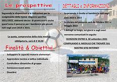 Locandina Progetto SCUOLA CALCIO 2021_20