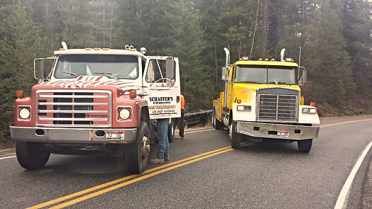 Schaffer's Towing heavy duty recovery