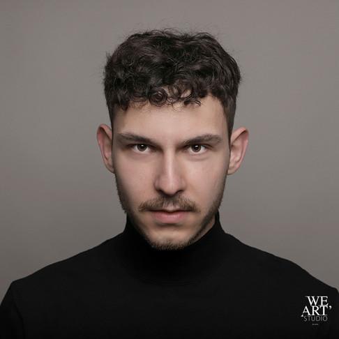 photographe blois 41 portrait masculin studio we art studio loir et cher