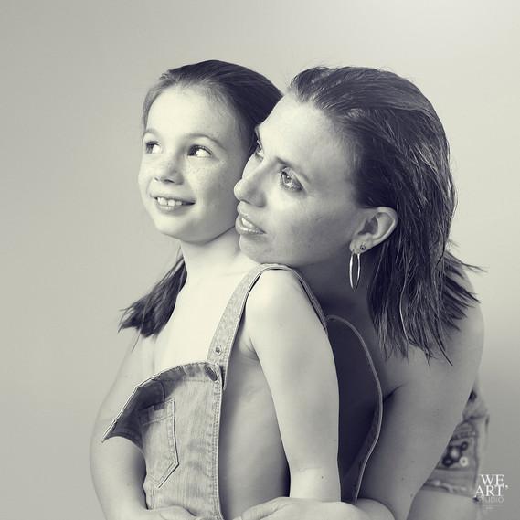 photographe blois studio 41 mère fille duo couple