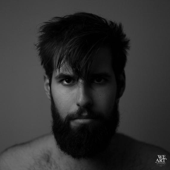 portrait homme photographe blois 41 studio artistique