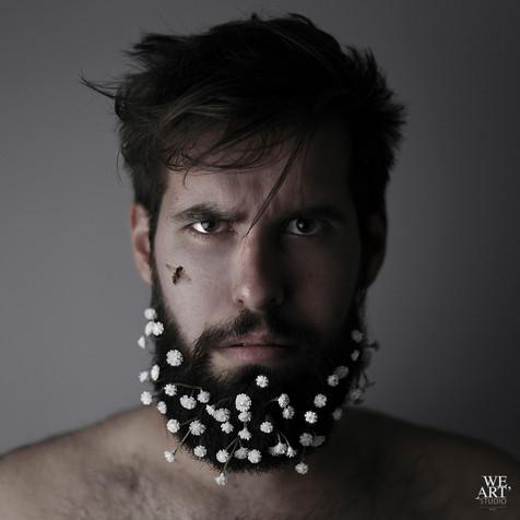 portrait art photographe blois studio homme masculin mode