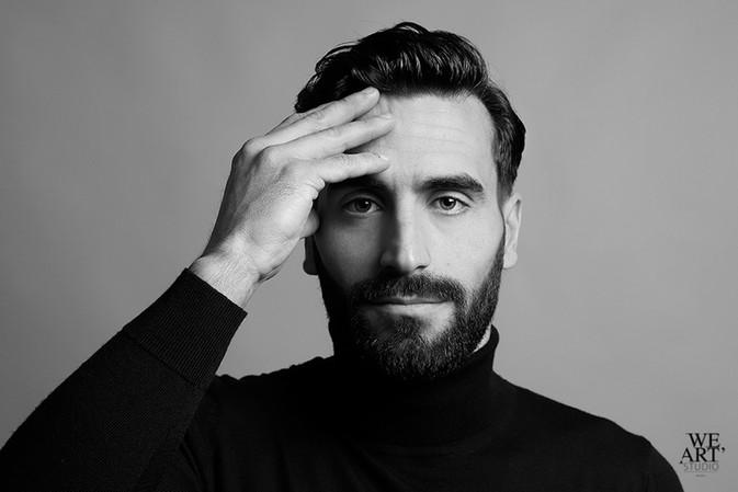 photographe blois 41000 portrait homme séance photo studio pro we art studio