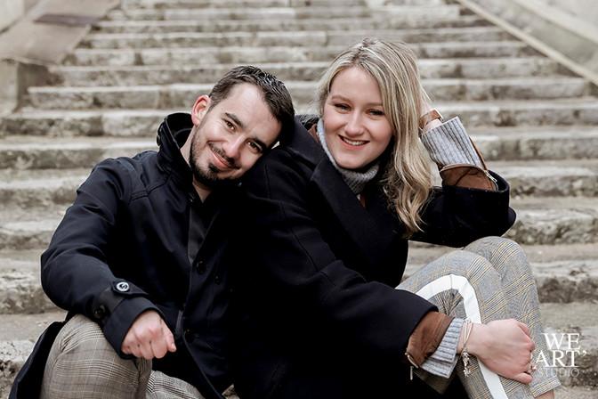 photographe blois 41 shooting photo couple mariage loir et cher rue porte coté