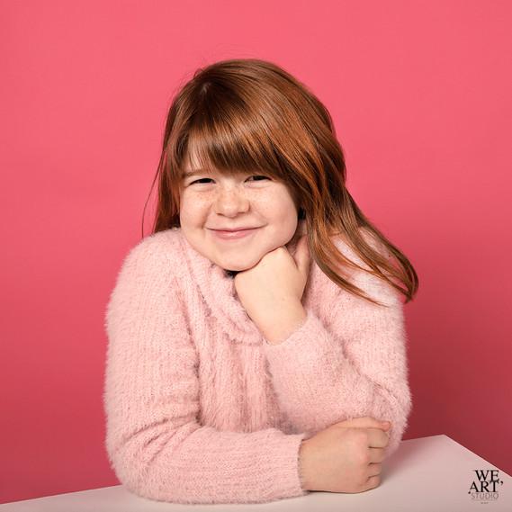 photographe blois portrait enfant studio