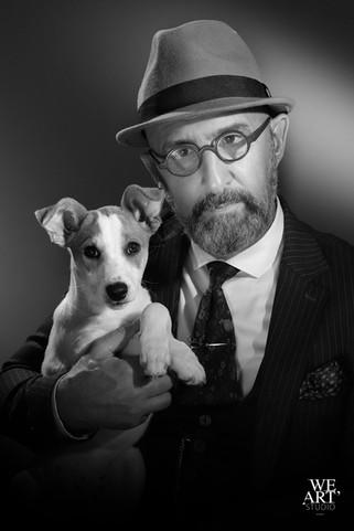 photographe blois portrait d'art cinéma harcourt animaux 41