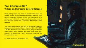 Cyberpunk 2077 - Videos before release! READ!