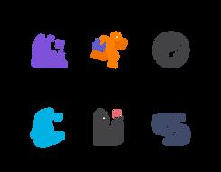 Nagtive Sapce Logos