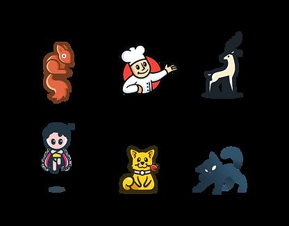 illustartion Logos By Mohi Hassan