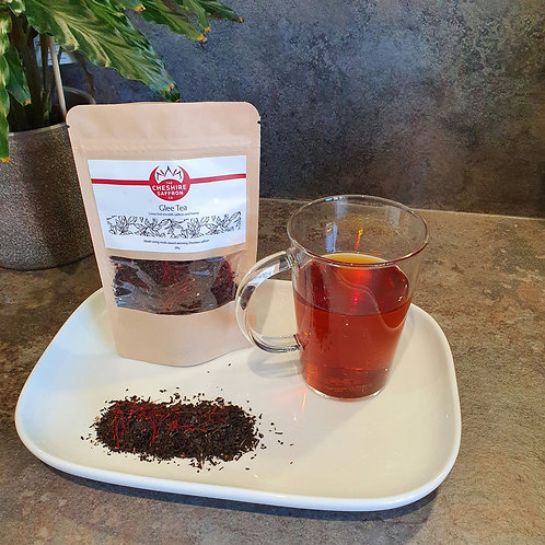 Mood boosting Glee Tea (Saffron and honey loose leaf tea)