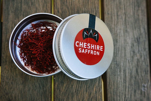 0.1g tin of Cheshire saffron