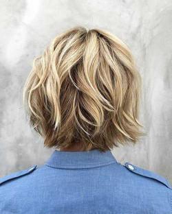 мелирование для коротких волос