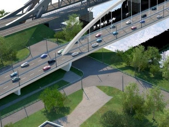 Строительство Северо-Западной хорды завершится возведением моста