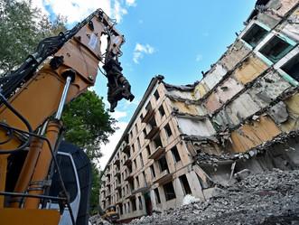 Пятиэтажки реновации будут сносить по «умной» технологии