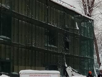 Наши стройки: ОСК осмотрел возведение детского сада и здания МВД
