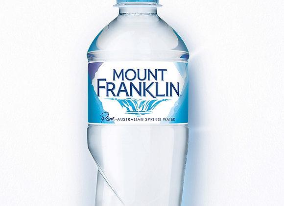 Mt Franklin Still Water 600mL