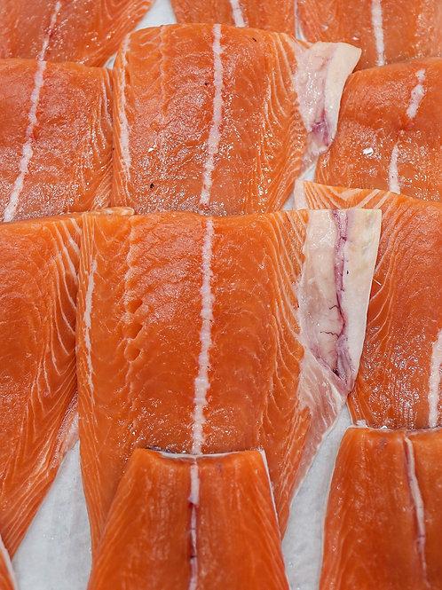 Atlantic Salmon tail skin on (500g )