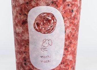 Mixed Berry Slush with Cream Cheese Foam