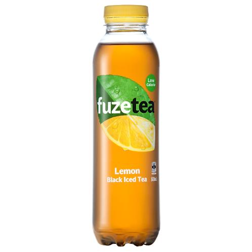 Fuze Tea Lemon Black Iced Tea - 500mL