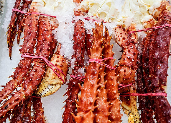 Raw King Crab Legs - Green (min size 600g)