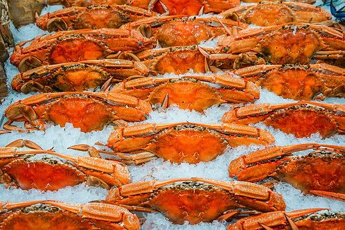 Cooked Blue Swimmer Crab (MALE) (1 kg)