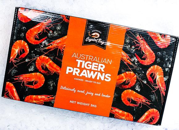 Farm Tiger Prawns 3kg Box (Frozen)