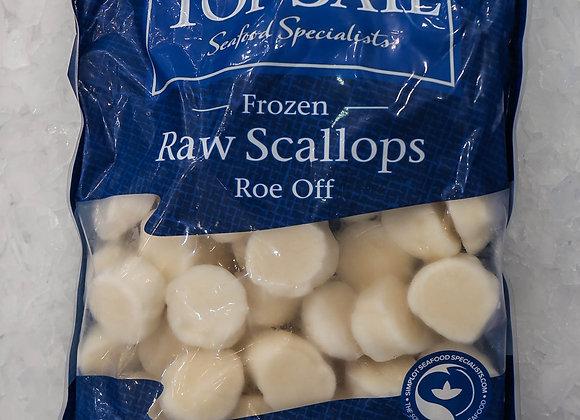 Frozen Raw Scallops (20-30)