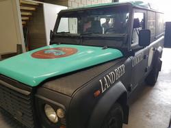 Beer truck Land rover defender (4)