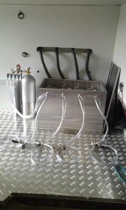 Kit extração para chopp