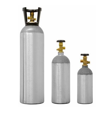 cilindro de co2 aluminio para chopp