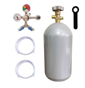 kit regulador e cilindro de co2 4kg para chopp