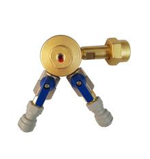 regulador de pressão co2 2 vias pré calibrado