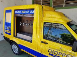 Beer truck choppex - MG