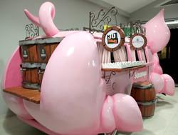 Beertruck schweinewagen chopp