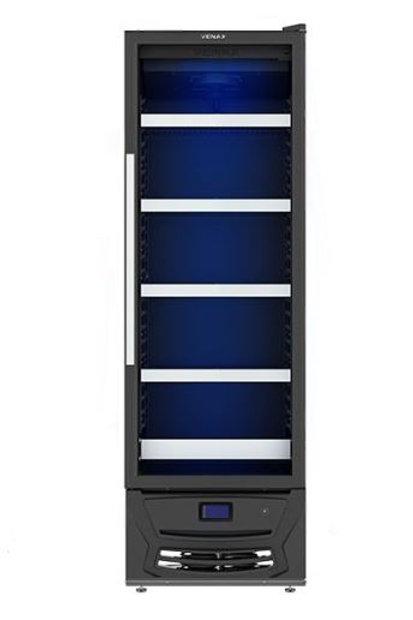Cervejeira Blue Light 330l Preto Fosco - Venax