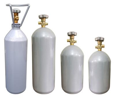 cilindro de co2 aço para chopp