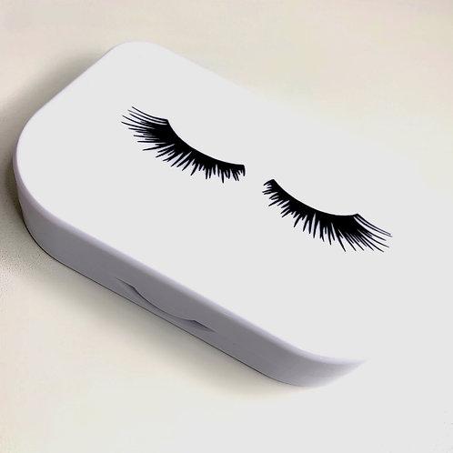 Black eyelash holder