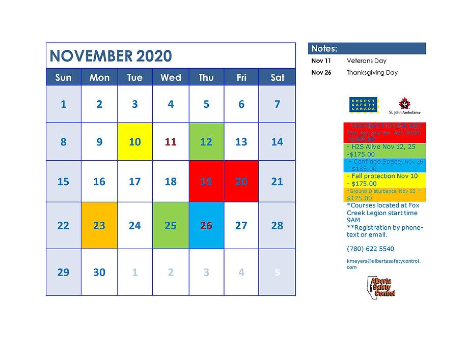November courses jpj.jpg