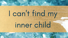 Help! My inner child missing!