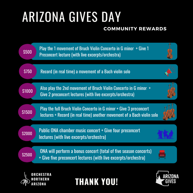 Arizona Gives Day Community Rewards