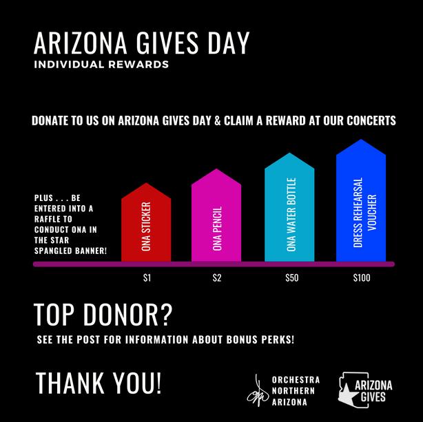 Arizona Gives Individual Rewards