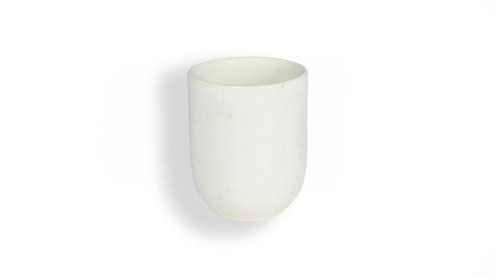 Set de 2 vasos blancos Casa Apló