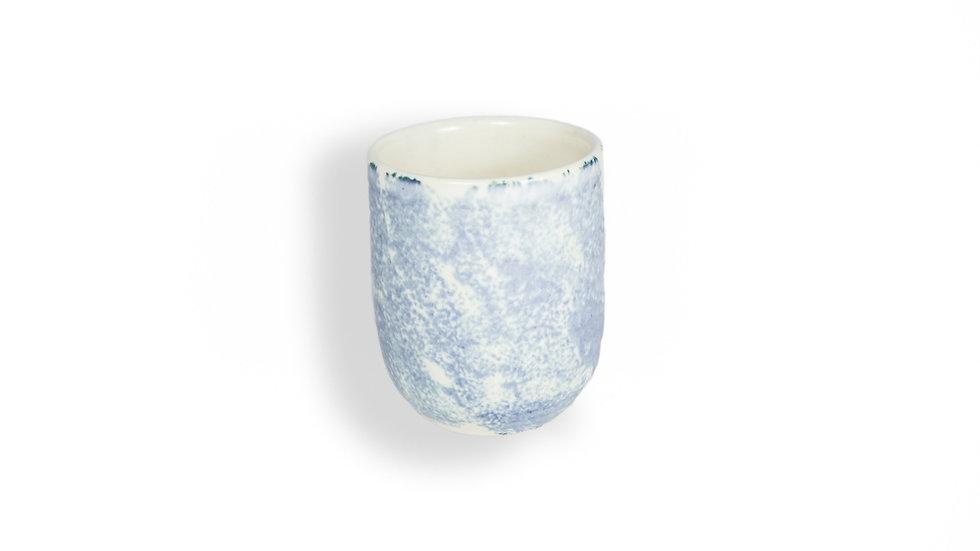 Set de 2 vasos azul claro deslavado Casa Apló
