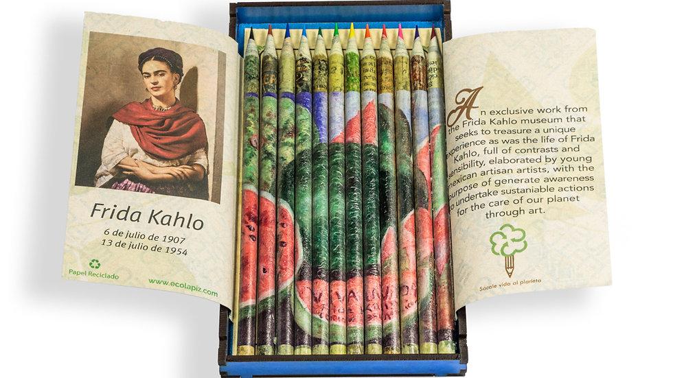 Caja Artesanal Colores - Frida Kahlo