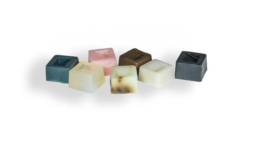 Caja de jabones en forma de chocolates