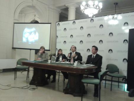 1 de Junio 2018. Legislatura Ciudad Autónoma de Buenos Aires. Salón Juan Domingo Perón