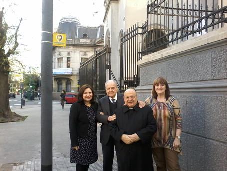 Parroquia Santa Julia... lugar de reunión de la Comisión Directiva del Consorcio de Médicos Católico