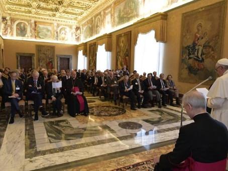 Discurso del Santo Padre Francisco para la Pontificia Academia de las Ciencias