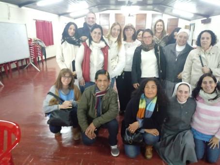 7 de Junio. Charla-Debate compartida con religiosas, docentes y personal de la Escuela Don Orione