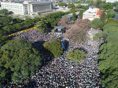 Argentina se moviliza en fidelidad por la vida